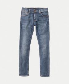 Nudie Jeans || TIGHT TERRY jeans: steel navy