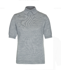 Wunderwerk || POLO merino cotton: grey
