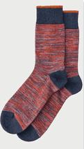 Nudie Jeans II RASMUSSON sokken: red