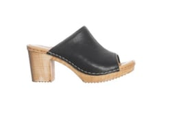 Ten Points || AMELIA vegetable tanned leather: black