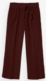 Bellamy Gallery || GHISLANE pants: Red Brown