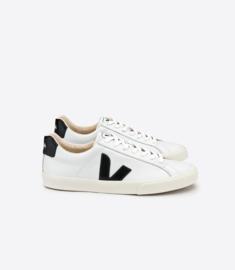 Veja || ESPLAR: logo leather extra white black