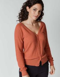 SKFK    BETTI sweater: cedar