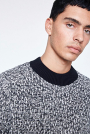 Armed Angels || COLIN pull knit : gradient black