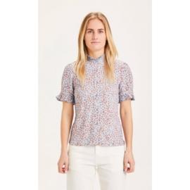 KCA || VERONICA blouse: Asley blue