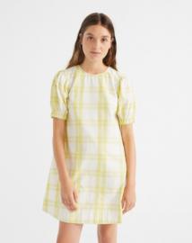 Thinking Mu || FLORETA dress: Checks