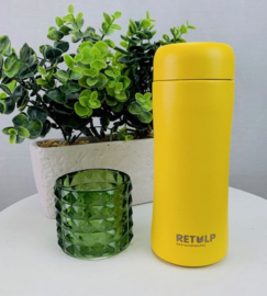 Retulp || thermosbeker 0,3L: happy yellow