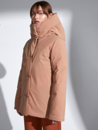 ELVINE    KATNISS coat: mocha mouse