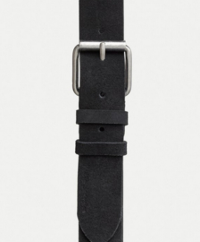 Nudie Jeans || PEDERSON suede belt: black