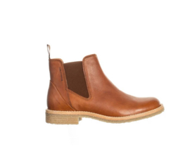Ten Points || ASTRID boot vegetable tanned leather: cognac