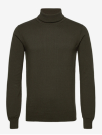 Bertoni || HENRIK rollneck knit: forrest night
