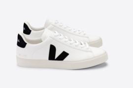 Veja || CAMPO CHROMEFREE: leather white-black