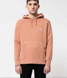 Nudie Jeans || FRANKIE hoodie njco logo: apricot