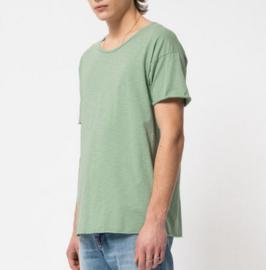 Nudie Jeans || ROGER slub tshirt: pale green