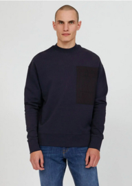 Armed Angels || BAADRO pocket sweater: depth navy