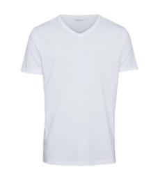 KCA || ALDER v neck tee: bright white