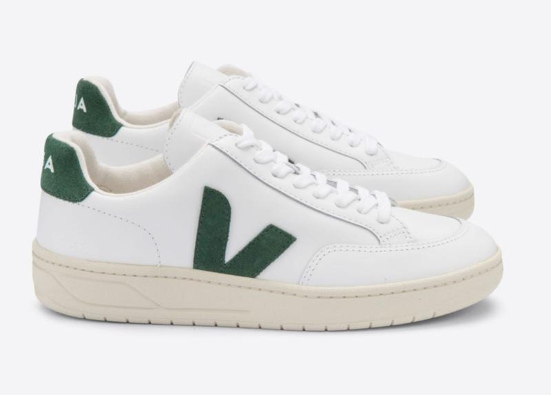 Veja    V-12: Leather white cyprus