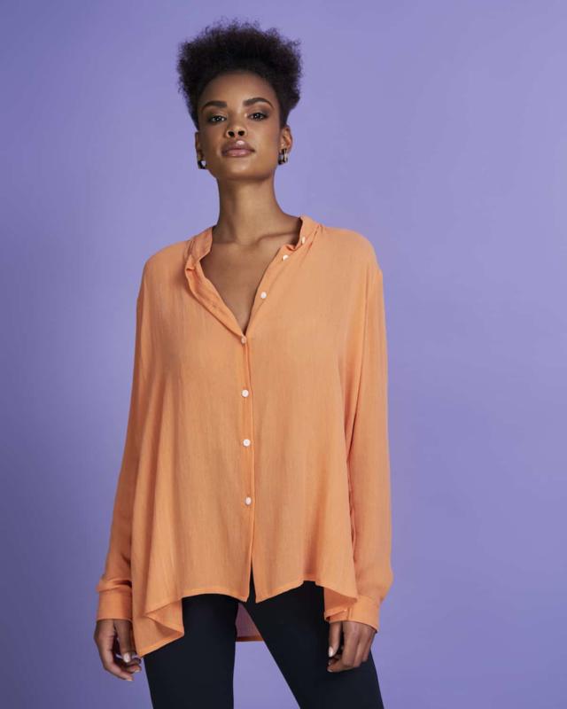 Jan N June    NANCY blouse: Papaya