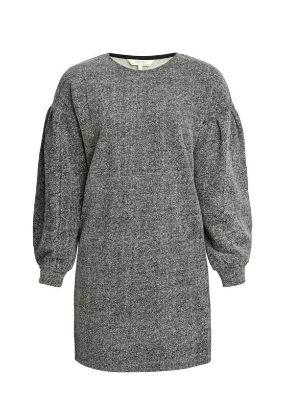 People Tree || ANNABEL tunic fleece: grey melange