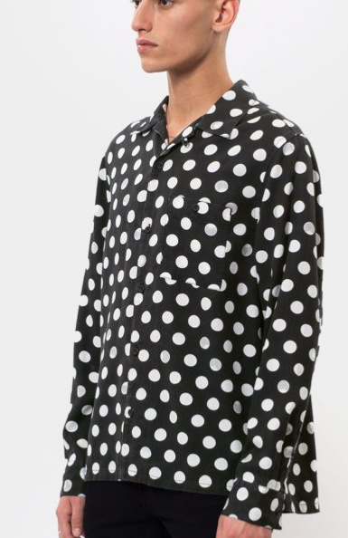 Nudie Jeans || VIDAR blouse: dots black from Karakter