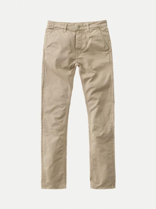 Nudie Jeans || ADAM slim chino: beige