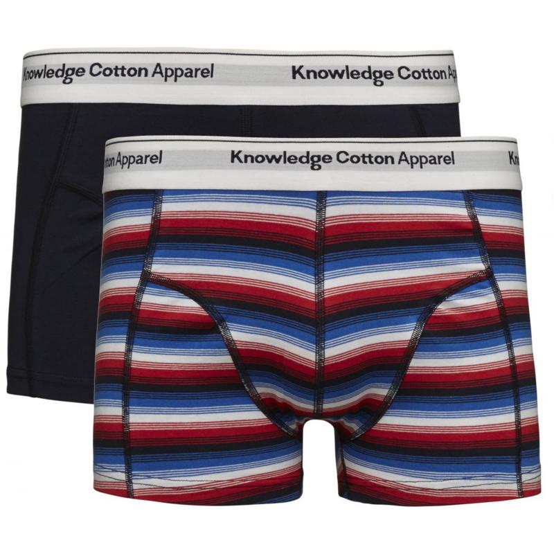 KCA || UNDERWEAR organic 2pack: double striped