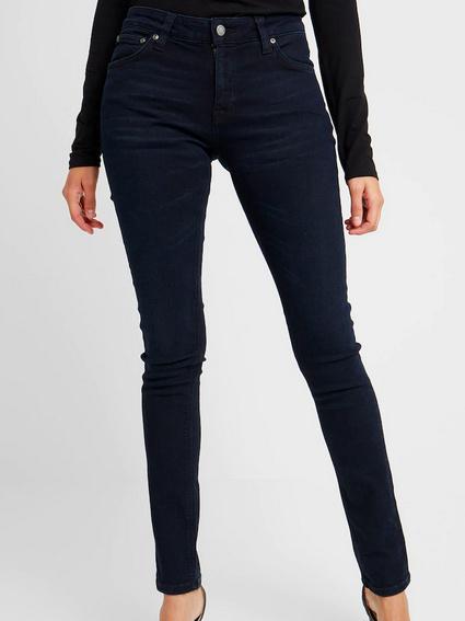 Nudie Jeans || SKINNY LIN jeans; Mali Blue