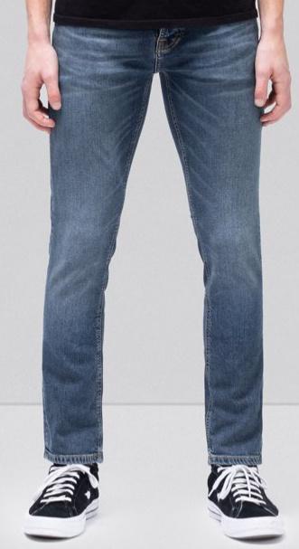 Nudie Jeans || GRIM TIM jeans: mid blue indigo