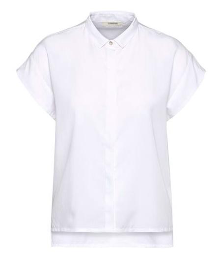 Wunderwerk    SQUARE tencel blouse: white