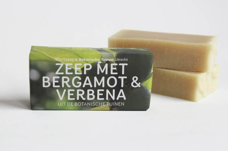 Werfzeep || botanische tuinen bergamot & verbena