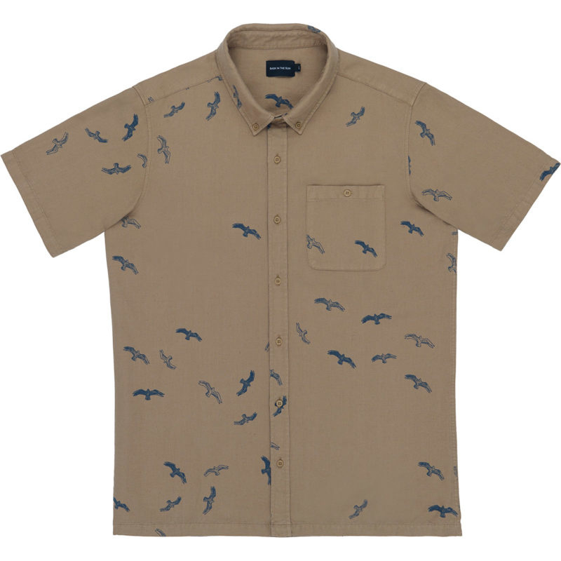 Shirt SEABIRDS; Tabacco