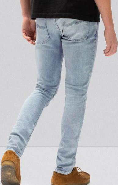 Nudie Jeans    SKINNY LIN jeans: indigo mania from Karakter