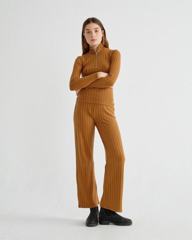 Thinking Mu || MILDA pants trash: caramel