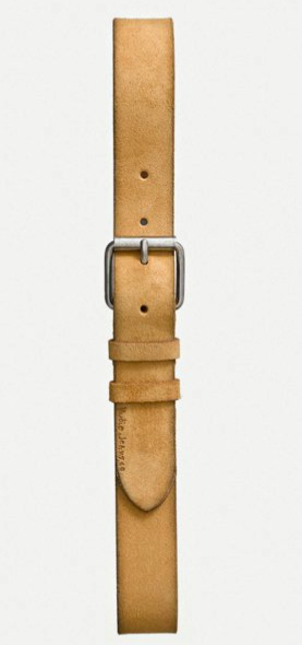 Nudie Jeans || PEDERSSON belt: ochre from Karakter
