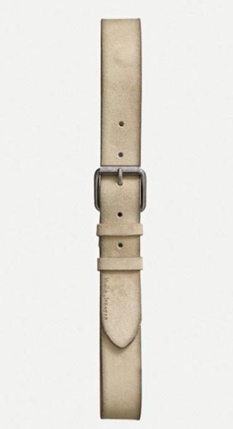 Nudie Jeans || PEDERSSON belt: beige
