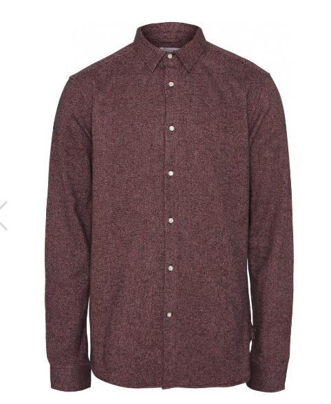 KCA    LARCH brushed shirt: codovan