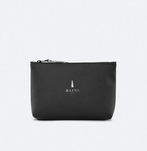 Rains || COSMETIC bag: black
