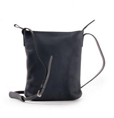 Harold's CHAZA cross-over bag medium - donkerblauw 300325