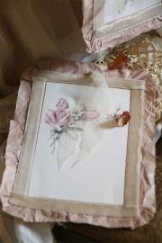 Jeanne d'Arc Living - Romantische kaart met roos (B)