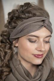 JDL Haarband - True treasure - Dark linen