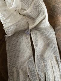 Oude nieuwe handschoenen - zacht creme