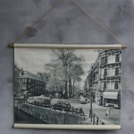 Fotodoek Amsterdamse gracht
