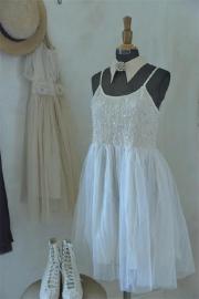 JDL - Vintage jurk  - alleen nog in rose