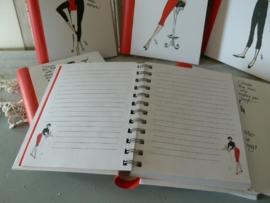 Hip Chicks notiteboekjes