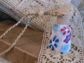 Parfumflesje fimoklei D (W048)
