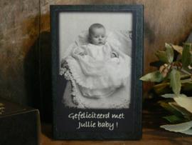 Zeep in een doosje - Gefeliciteerd met jullie baby!