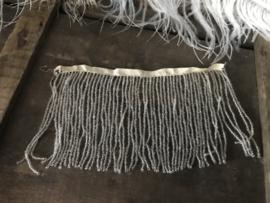 Oud stukje kralenband - 18,5 cm