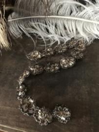 Oud bloemenband - 48 cm