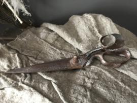Oude kleermakers schaar A - 32 cm
