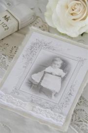 Jeanne d'Arc Living - enkele (doop)kaart meisje